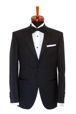 Gentlemen`s Corner Slim Fit Dinner Jacket - Hamilton Black