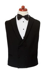 Gentlemen`s Corner Double Breasted Dinner Waistcoat - Made to Measure