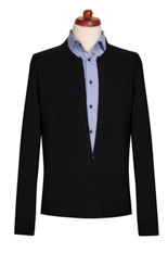 Gentlemen`s Corner Black Cardigan