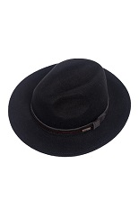 Panizza Fedora Hat - Black