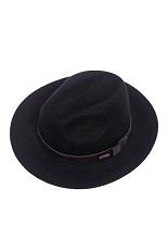 Panizza Fedora Hat - Black