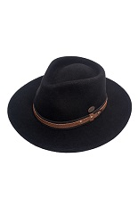Bigalli Expedition Hat - Black