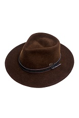 Bigalli Expedition Hat - Dark Brown
