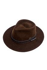 Bigalli Expedition Hat - Dark Brown