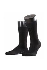 FALKE Milano Short sock - Black