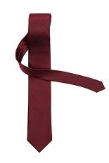 Gentlemen`s Corner Bordeaux Silk Tie - Slim