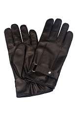 Gentlemen`s Corner Touchscreen Hairsheep Leather Gloves - Cashmere Lining