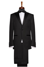 Gentlemen`s Corner Slim Fit Dinner Suit - Essex Black