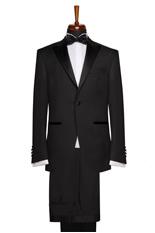 Gentlemen`s Corner Slim Fit Dinner Suit - Essex Black