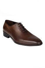 Gentlemen`s Corner Shoes - Dark Brown