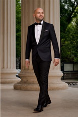 Gentlemen`s Corner Slim Fit Dinner Suit - Jacquard
