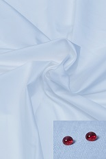 Gentlemen`s Corner Azure Blue Shirt - Resists Stains and Perspiration