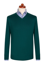 Gentlemen`s Corner Dark Green Sweater