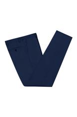 Gentlemen`s Corner Blue Slim Fit Trousers - Dean