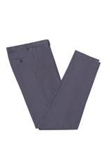 Gentlemen`s Corner Grey Slim Fit Trousers - Vince