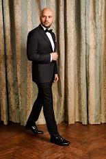 Gentlemen`s Corner Slim Fit Dinner Suit - Ascot Black