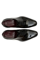 Gentlemen`s Corner Black Patent Leather Shoes
