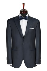 Gentlemen`s Corner Slim Fit Dinner Jacket - Ascot Navy