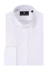 Robert White Dress Shirt - Double Cuff