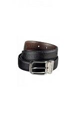 Montegrappa Reversibile Belt - Black/Brown