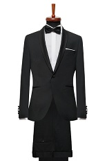 Gentlemen`s Corner Slim Fit Dinner Suit - Thomas
