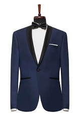Gentlemen`s Corner Slim Fit Dinner Jacket - Thomas Navy