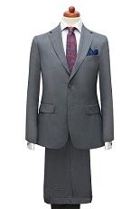 Gentlemen`s Corner Slim Fit Business Grey Suit