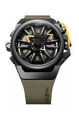 Mazzucato Reversible Automatic RIM Black Yellow
