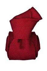 Gentlemen`s Corner Red Grenadine Silk Tie