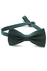 Gentlemen`s Corner Wool Bow Tie - Dark Grey Floral