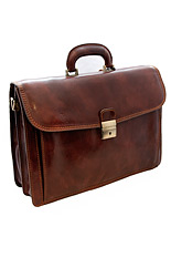 Mantua Italian Leather Briefcase