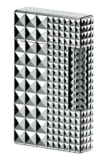 S.T. Dupont Lighter - Palladium Diamond Head 2 Sizes