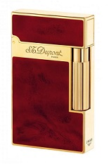 S.T. Dupont Lighter Ligne 2 - Vintage Bordeaux