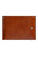 S.T. Dupont Billfold Line D/ 6 credit cards - brown