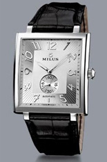Ceas MILUS - HERIOS AUTOMATIC STEEL - SILVER