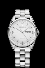 Ceas MILUS - TIRION CLASSIC STEEL - SILVER/METAL