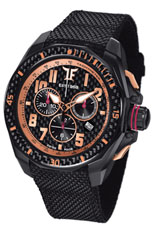 Ceas TF Est. Quartz Black PVD - Rose Gold