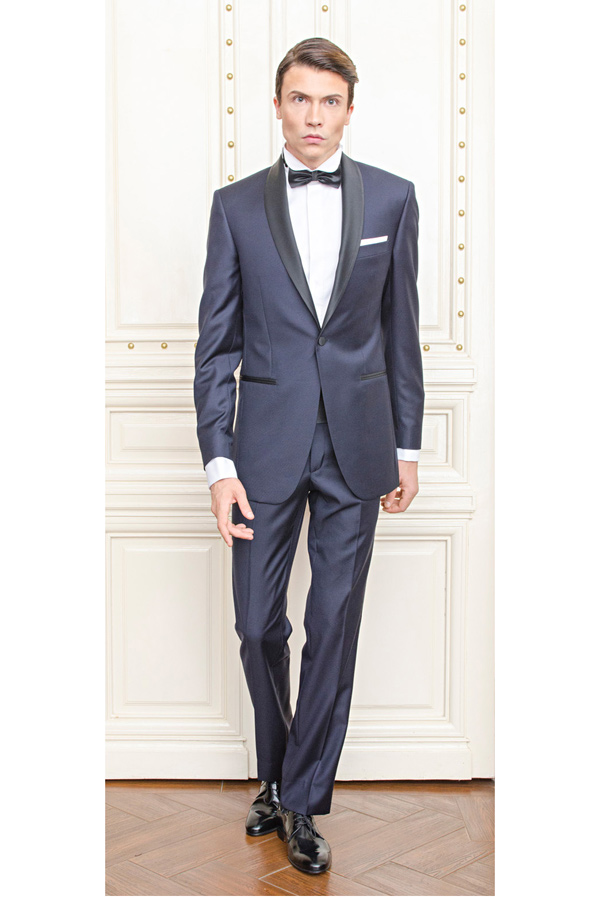 Smoking Slim Fit Gentlemen`s Corner - Oscar