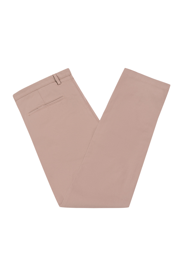 Pantaloni bumbac Slim Fit - crem - Rice