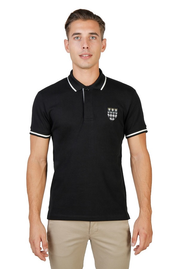 Tricou Polo Oxford University - Black