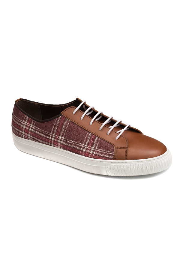 Sneakers Gentlemen`s Corner - Red Check